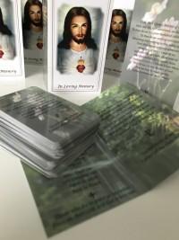 In loving memory memorial cards by Invite Delight at the cross memorials