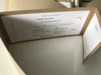 recycle rusty rustick invite pocket wedding invitation with hot foil designs at Invite Delight
