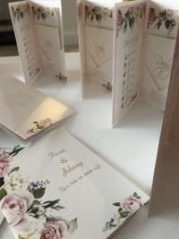 pocket fold invites wedding invitation hot foil rose gold beautify designs at Invite Delight