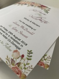 wedding invites floral invite designs at Invite Delight