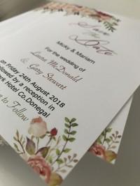 wedding invites floral invite designs at Invite Delight