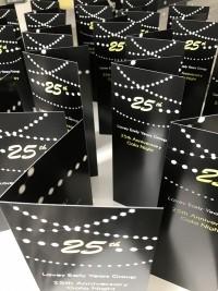 25 menu card corporate at Invite Delight