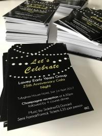 25 silver celebration corporate at Invite Delight