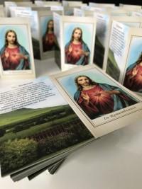 scenic bespoke memorial card by Invite Delight at the cross memorials