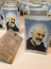St Pio Memorial cards