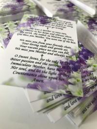 beautiful wallet memorial card